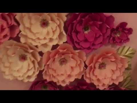 Cómo crear paredes de Flores para Decorar Eventos