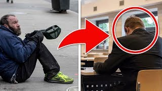 This Man Always Gave Coins to a Beggar. He Was Shocked When He Saw Him a Few Years Later!