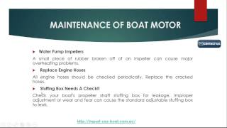 How To Maintain Your Boats - Import USA Boat