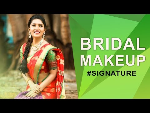 How to do Bridal Makeup   Vani Bhojan's Beauty Secret #Signature
