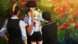 [ТОП 10] Аниме где сильный ГГ защищает девушку и в скором она в него влюбляется