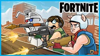 THE MOST INSANE ENDING EVER in Fortnite: Battle Royale! 😱