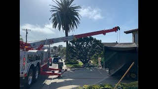 Runaway Truck Crashes In To House - Rotator Lift And Winch