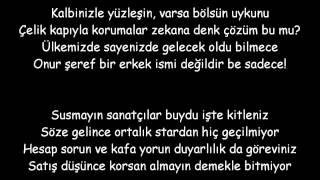 Norm Ender - Çıktık Yine Yollara ( Lyrics )