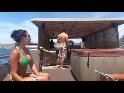 Video House boats rule!! Lake Pleasant AZ