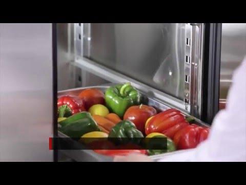 Video Armoire de stockage positive 1 porte 580 Litres ATOSA