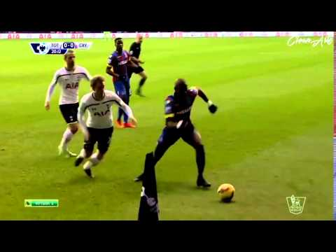 Yannick Bolasie Amazing Flick Crystal Palace vs Tottenham Hotspur 720p