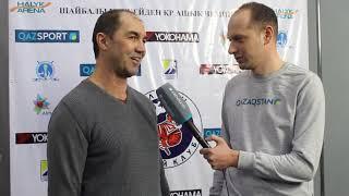 Старший тренер ХК «Алматы» Игорь Дорохин прокомментировал матч против «Арлана»