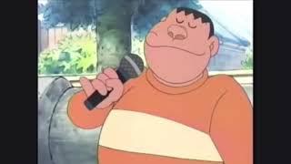ジャイアンがテツandトモのなんでだろうを歌います。