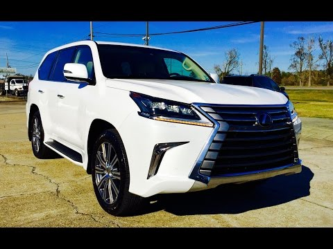 2016 Lexus LX 570 Full Review / Start Up / Exhaust
