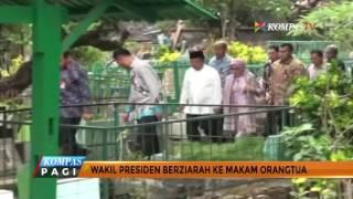 Jokowi dan Jusuf Kalla Ziarah ke Makam Orangtua
