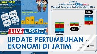 Pertumbuhan Ekonomi Jawa Timur Alami Kenaikan di Triwulan II 2021, Ini 2 Sektor Penguatnya