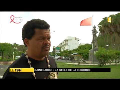 Guadeloupe :  La stèle aux premiers colons abattue par des militants
