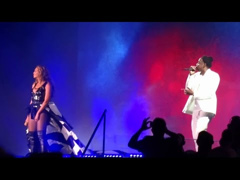 Beyonce & Jay-Z - Bonnie and Clyde (Part 2) Live Awesome Video!!