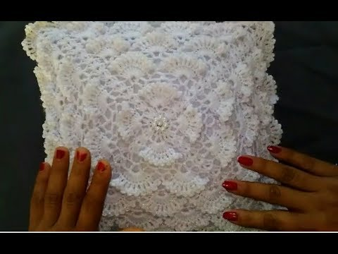 Crochet Cushion cover Very easy