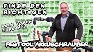 Mike's Toolshop erklärt - Finde den richtigen Festool Akkuschrauber
