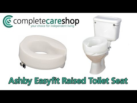 Fitting The Ashby Toilet Seat