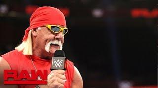 Notas de RAW: Hulk Hogan presente; Banks y Rousey a lucha en Royal Rumble; Ambrose vs. Rollins y más