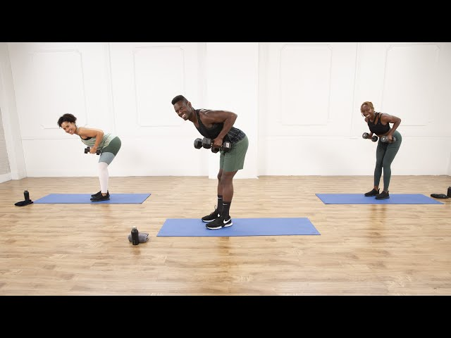 30-Minute Strength-Training Workout With Weights