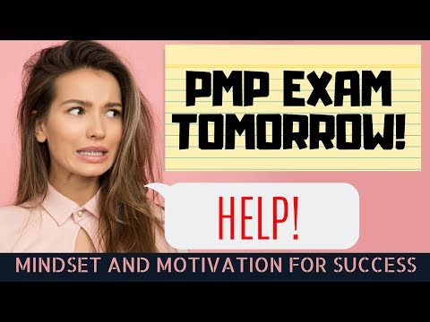 How to Prepare for PMP Exam TOMORROW! - YouTube