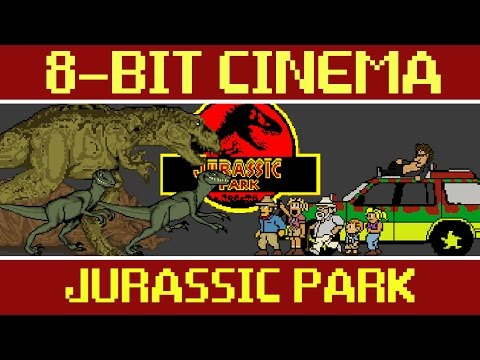 Jurassic Park In 8-Bit Is A Better Movie Than Any Of Its Sequels