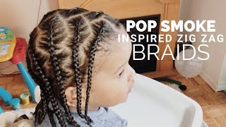 TODDLER BOY HAIRSTYLES 12    POP SMOKE BRAIDS    CURLY KIDS HAIR    CANTU KIDS    SHEA MOISTURE