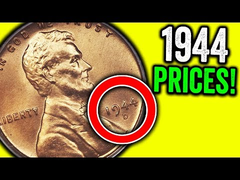 1944 WHEAT PENNIES WORTH MONEY - RARE & VALUABLE COINS TO LOOK FOR!!