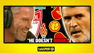 HE DOESN'T DRINK! Jamie Carragher reveals what Roy Keane is really like on Sky Sports