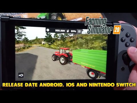 Farming Simulator 2020 RELEASE DATE | PREVIEW | ANDROID & IOS & NINTENDO SWITCH | FS20 VS FS18