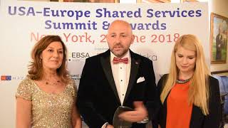 3M picks up Top US SSC in Poland award at USA-Europe Shared Services Gala, New York