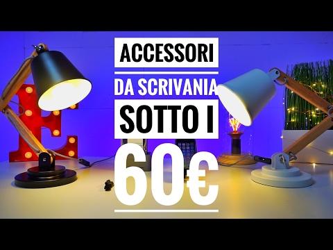 I MIGLIORI accessori da SCRIVANIA sotto i 60€