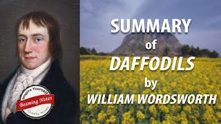 Line By Line Summary Of Daffodils By William Wordsworth