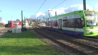 preview picture of video 'London Trams 5 New Addington + Village'