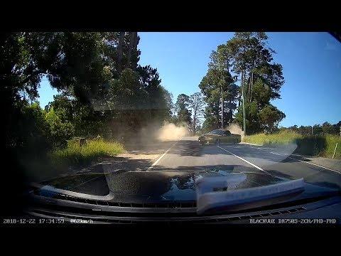 Driver falls asleep at wheel and causes crash - Mt Burnett VIC