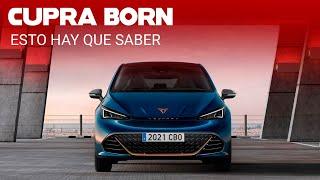 CUPRA Born: el primer paso de 230 hp al futuro de eléctricos deportivos que dominarán en la marca