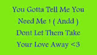 Ashanti- Dont Let Them With Lyrics