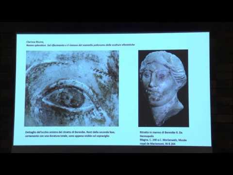 Presentazione degli atti sulla cromia nella scultura di epoca classica e medievale