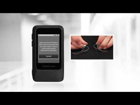 Syncing Hearing Aids to SurfLink Mobile Devices