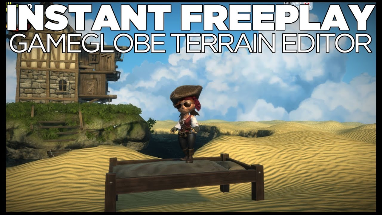 Instant Freeplay: Gameglobe #3 (Map Building Tool)