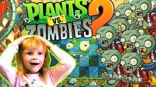 Растения против Зомби 2 #39 Будущий мир Прохождение Plants vs zombies 2 Видео для детей МультиPlay