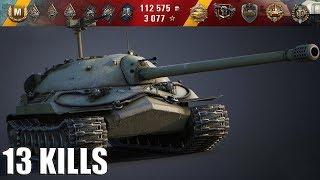 ИС-7 как играют не статисты 🌟 13 фрагов, карта: Священная долина 🌟 World of Tanks лучший бой