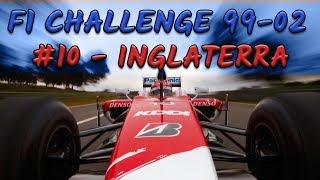 F1 Challenge 99-02 - #10 - GP da Inglaterra - TEMPORADA 2002 - TOYOTA | Jogos Clássicos