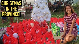Christmas In The Province Philippines - Gift Giving To 40 Families