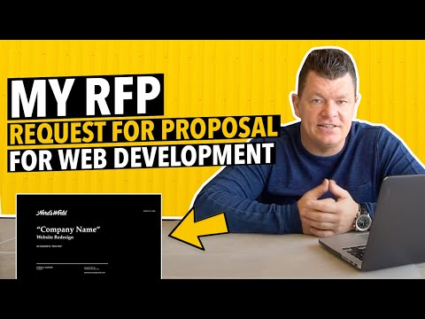 OUR (RFP) REQUEST FOR PROPOSAL | WEBSITE DESIGN