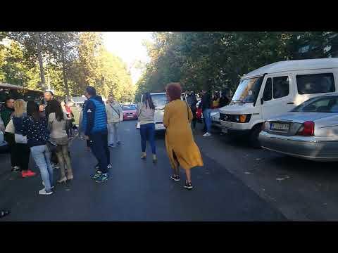 Niški službenici autobusima na Vučićev skup u Blace i Kuršumliju