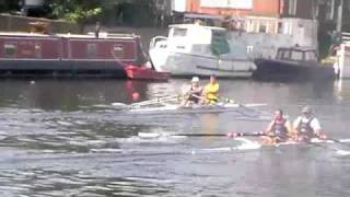 preview picture of video 'Molesey Amateur Regatta'