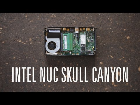 Обзор Intel NUC Skull Canyon