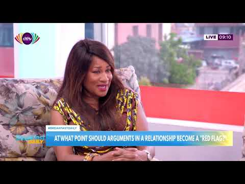 At what point should arguments in a relationship become a 'red flag'  ?  | Breakfast Daily