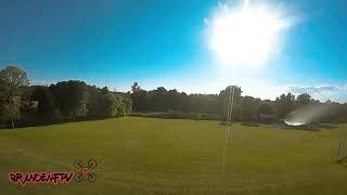 I CRASHED MY DRONE! DJI FPV DAY 2