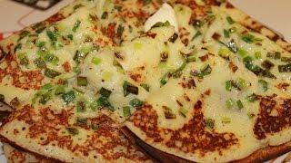 Картофельные блинчики с зеленым луком или Китайские Лепешки. Вкусно,нет слов!